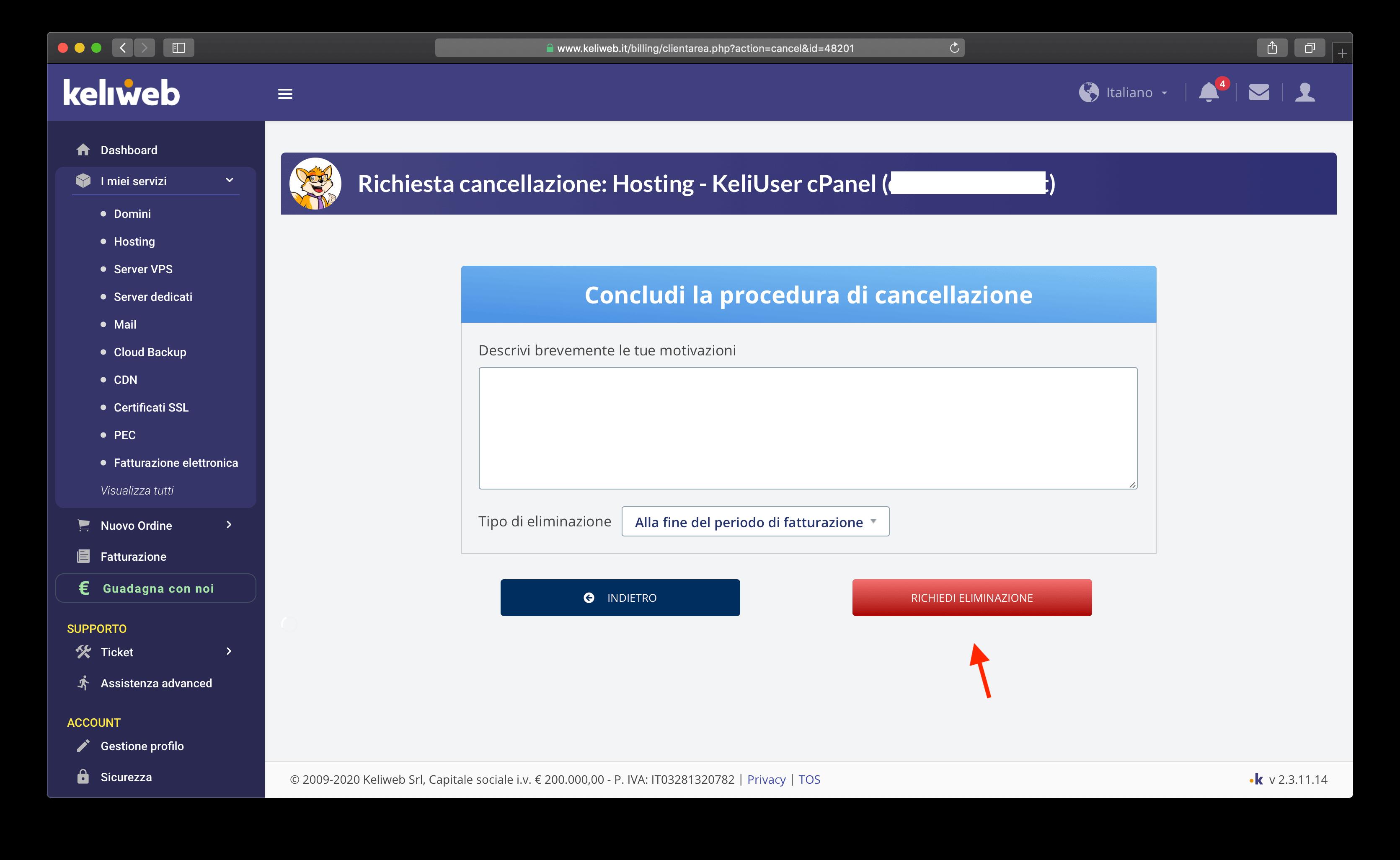 cancellazione-hosting